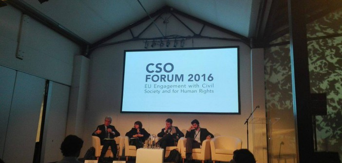 CSO Forum – EU Engagement with Civil Society and Support for Human Rights: Turning Big Pledges into Local Challenges