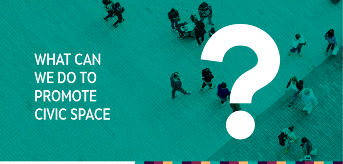 What Can We Do to Promote Civic Space: Perspectives from the Western Balkans and Turkey