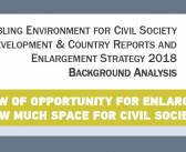 Window of Opportunity for Enlargement: How much Space for Civil Society?