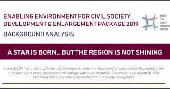 BCSDN Background Analysis of the Enlargement Package 2019: A Star Is Born, but the Region Is Not Shining