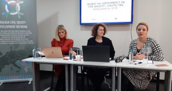 Presentation of the CSOSI 2018 Report for Macedonia