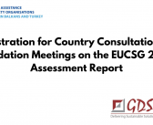 Registration for Country Consultation and Validation Meetings on the EUCSG 2020 Assessment Report