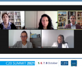 """BCSDN at the C20 Summit 2021: """"Civic Space Restrictions in the Era of COVID: Why Is Democracy at Risk?"""""""