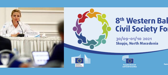 8th EESC Western Balkans Civil Society Forum: Civil Society Should Be Fully Involved in the Enlargement Process and Discussions on the Future of Europe
